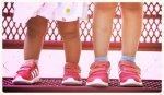 różowe buty dziecięce