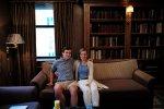 małżeństwo na sofie